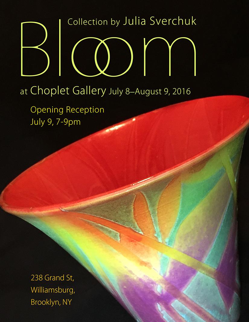 Bloom by Julia Sverchuk