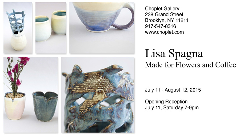 Made for Flowers and Coffee by Lisa Spagna