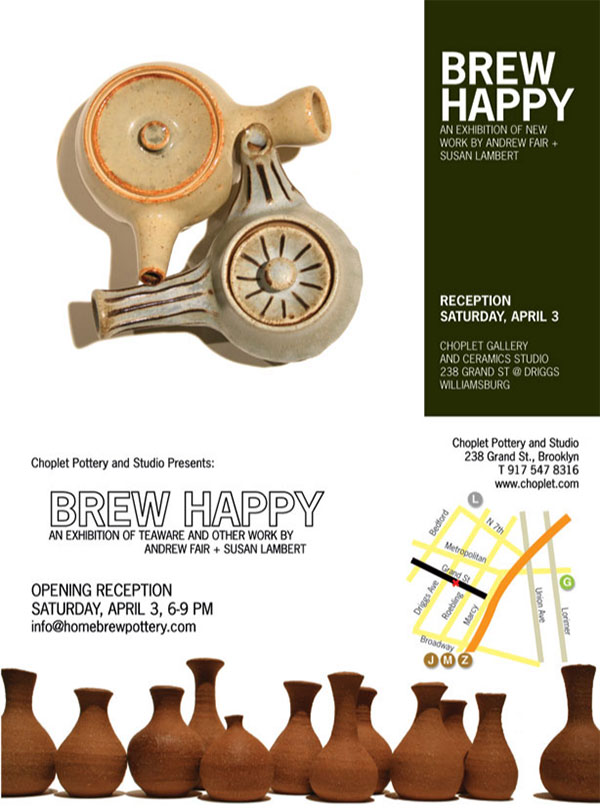 Past Shows: Brew Happy by Andrew Fair & Susan Lambert