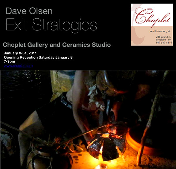 Past Shows: Exit Strategies by Dave Olsen