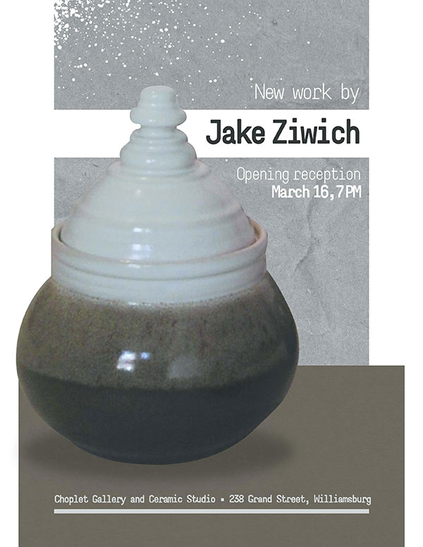 Past Shows: New Ceramics by Jake Ziwich
