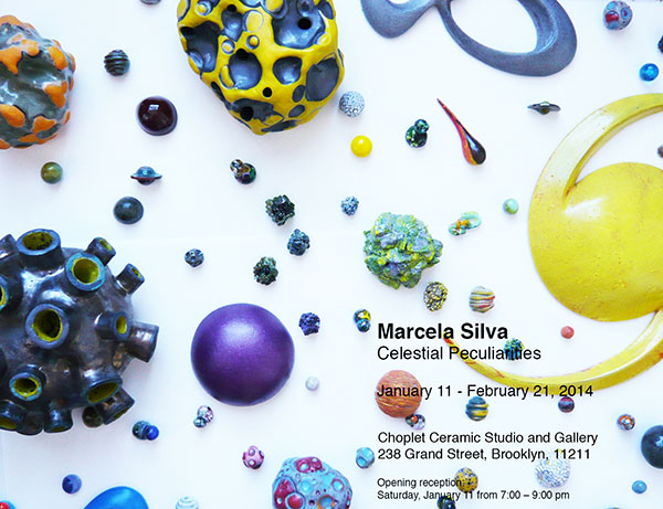 Past Shows: Celestial Peculiarities by Marcela Silva