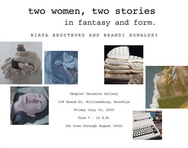 Past Shows: Two Women, Two Stories by Biata Roytburd & Brandi Kowalski