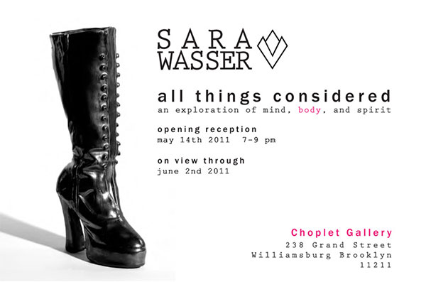Past Shows: All Things Considered by Sara Wasser