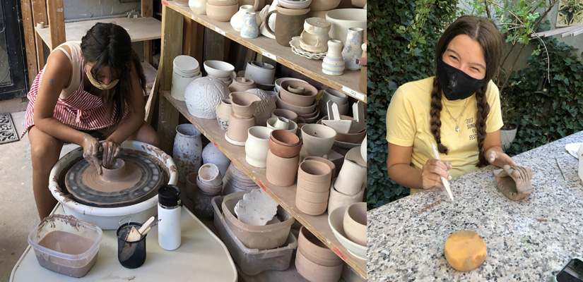 after school teens pottery ceramic program
