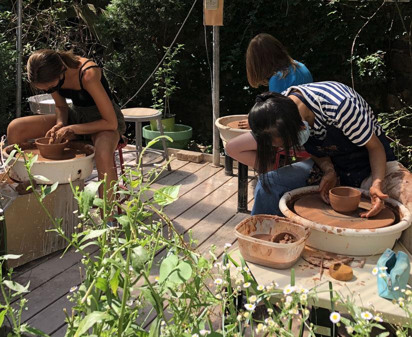 Kids & Teens Pottery Ceramic Camp