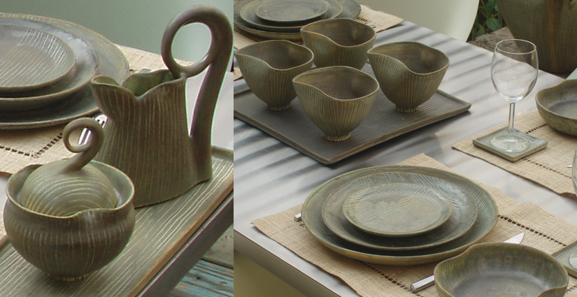 Choplet Commissioned Work: Sapling Table Setting